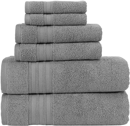 Hamman Linen Grey Towels