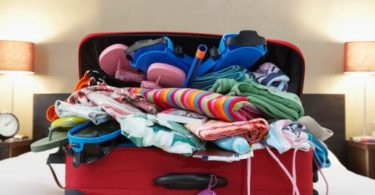 packing list - things to pack in a backpack